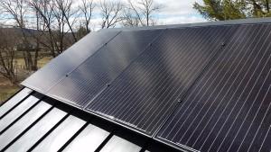 Mono Metal Roof Black on Black Hillsboro