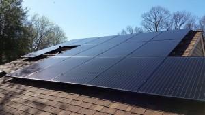 Mono Solar Array BoB Back of House Sterling