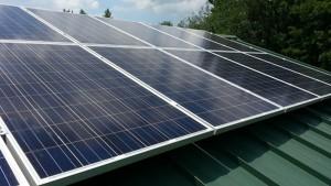 Standing Seam Mono Solar Panels